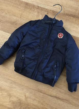Куртка детская демисезон на осень на подкладке 6-9 месяцев