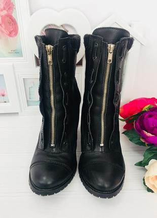 Кожаные сапоги ботинки next португалия