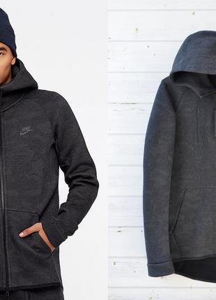 0dcf2a50 Мужская кофта (куртка найк теч флис ) nike tech fleece hoodie оригинал
