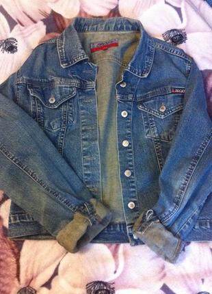 Джинсовый пиджак , джинсовая куртка от ware denim