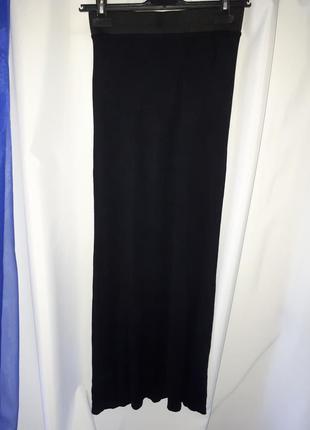 Длинная трикотажная юбка boohoo