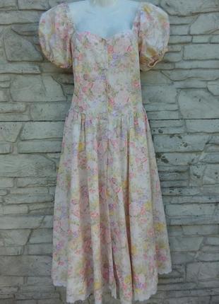 Распродажа! красивое, нежное платье, сарафан в цветочный принт