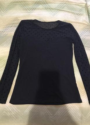 Чёрная блуза