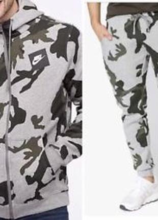 6349f41e8df8 Спортивный костюм nike aop club camo fleece оригинал Nike, цена ...