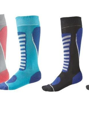 Функциональные зональные лыжные термо носки гольфы crivit германия