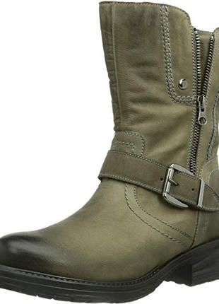 Срочно! кожаные ботинки tamaris 41р