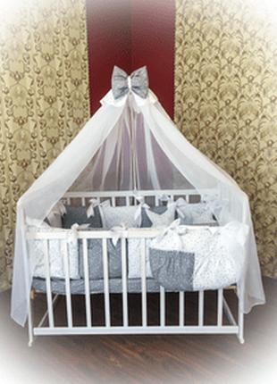 Детское хлопковое гипоаллергенное постельное