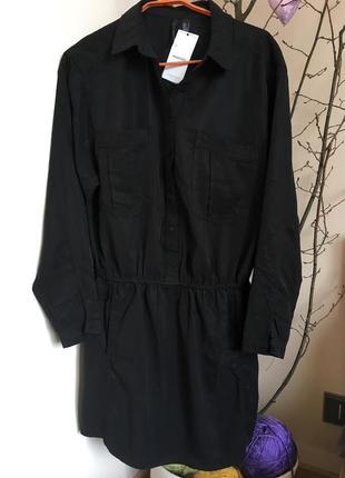 Платье-рубашка от mango🖤 (l)