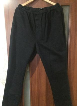 Катоновые брюки на резинки
