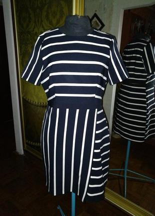 Платье в полоску, 50 р-р