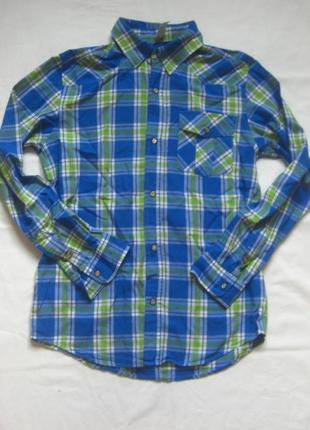 Рубашка gee jay company на кнопках, состояние новой