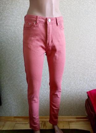 Джинси скинни висока талія, брюки штани m.