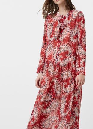 Mango великолепное длинное платье в пол макси🌸🌸🌸
