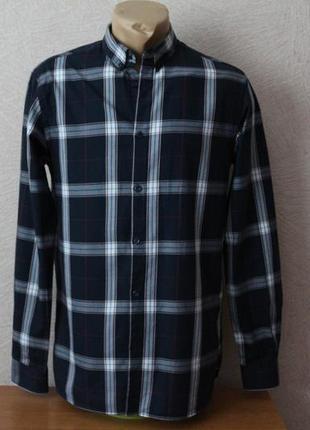 Jack&jones- брендовая рубашка в клетку-оригинал
