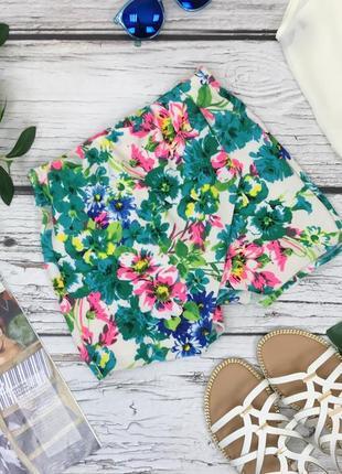 Яркие шорты с цветочным принтом  pn1831020  new look
