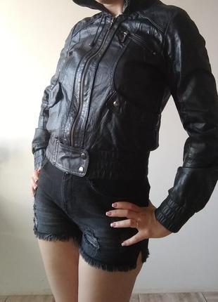 Шкіряна куртка,кожание курточка