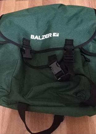 Срециализированный вместительный фирменный туристический рюкзак balzer
