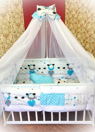 Комплект двухсторонний  детского постельного белья
