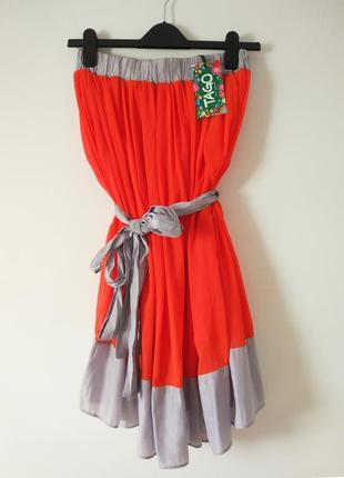 Платье /сарафан из шифона tago