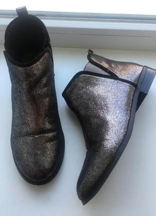 Zara челси ботинки