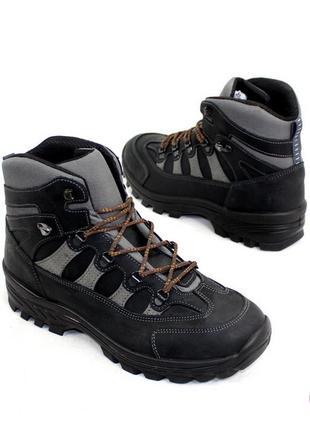 Трекинговые ботинки 44 р liberty кожа оригинал демисезон