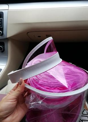 Пластиковый козырек, пластиковая кепка