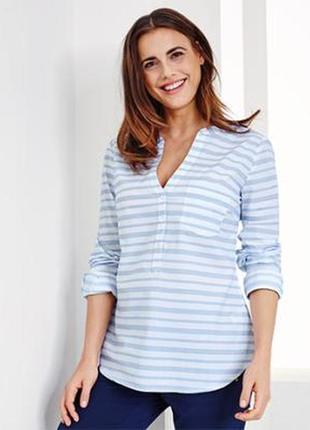 Лёгкая женская блуза-туника от tcm tchibo, размер eur38