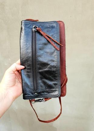 Брендовая сумка кросс боди натуральная кожа премиум part two