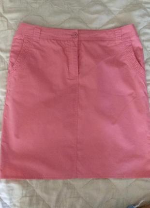 Классная розовая юбка на  46-48 р