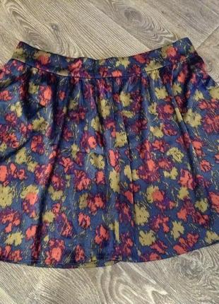 Шикарная юбка, шелковая юбочка 96%silk