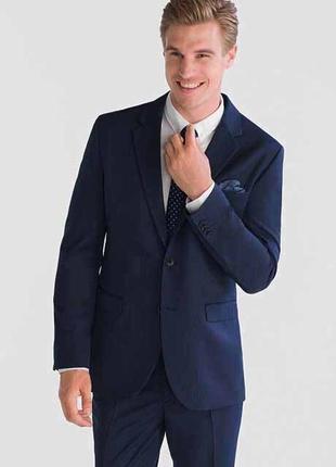 Красивый фирменный мужской пиджак angelo litrico размер 50 наш