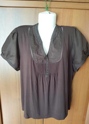 Стильная блузка размера 54-56