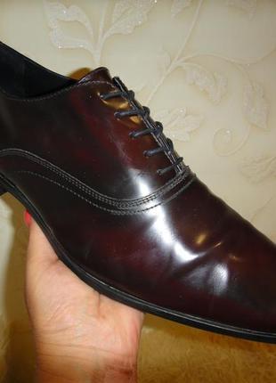 Мужские кожаные туфли оксфорды делового стиля pier one 46 оригинал