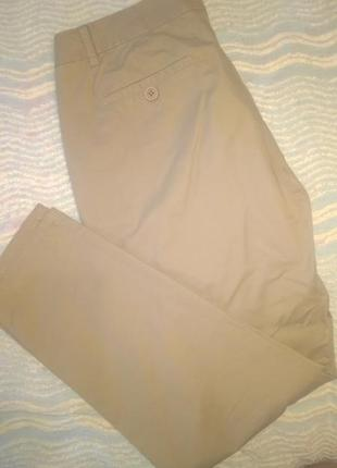 Классические зауженные брюки 100%коттон