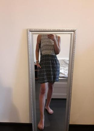 Платье zara в горох