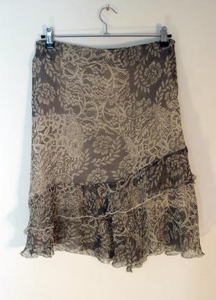 Шикарная нарядная летняя юбка
