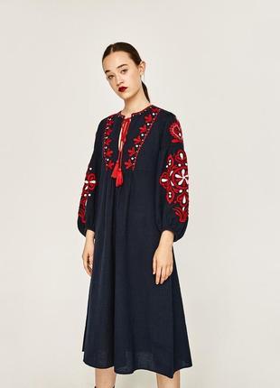 Новое платье с биркой zara