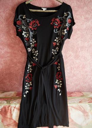 Платье с вышивкой monsoon