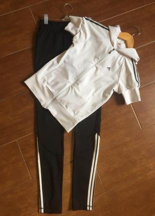 Спортивный костюм,лосины футболка