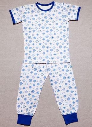 Детская летняя пижамка, хлопок, 92 размер.