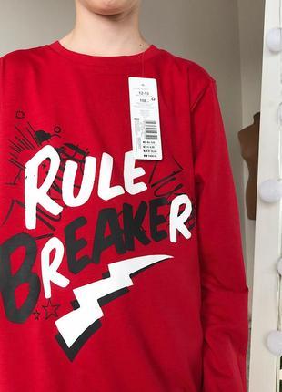 Модная красная кофта на мальчика 12-13 лет одежда для подростков украина