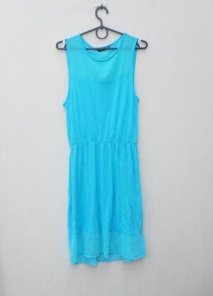Летнее трикотажное платье из вискозы