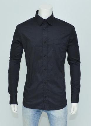 Отличная классическая черная рубашка от мирового бренда dolce & gabbana оригинал