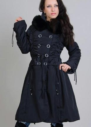 Пальто на синтепоне foce
