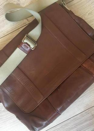 Кожанный оригинальный портфель piquadro  №  6342  винтаж