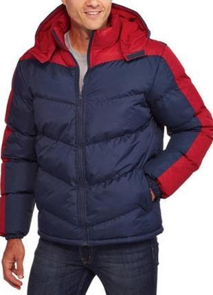 Куртка мужская climate concepts с капюшоном и флисовой подкладкой, l, примерно 52-54
