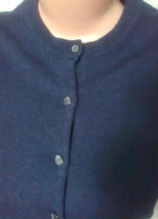 Шерстяная кофта*свитер*кардиган*100%шерсть мериноса