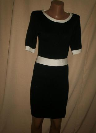 Трикотажное  платье forever21 р-рs