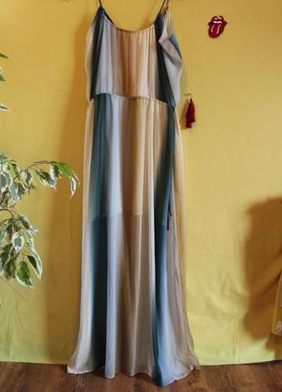Легка літня сукня в трендових кольорах