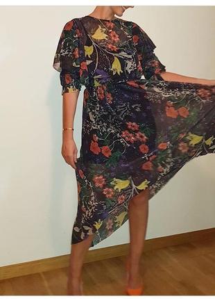 Продам новое платье zara длинное